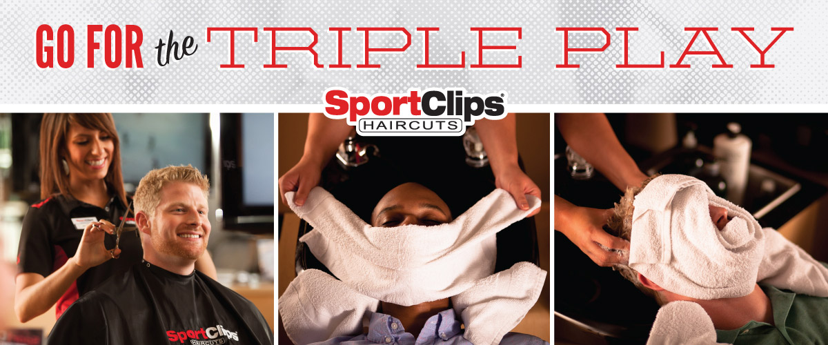 The Sport Clips Haircuts of Bridgeville Triple Play